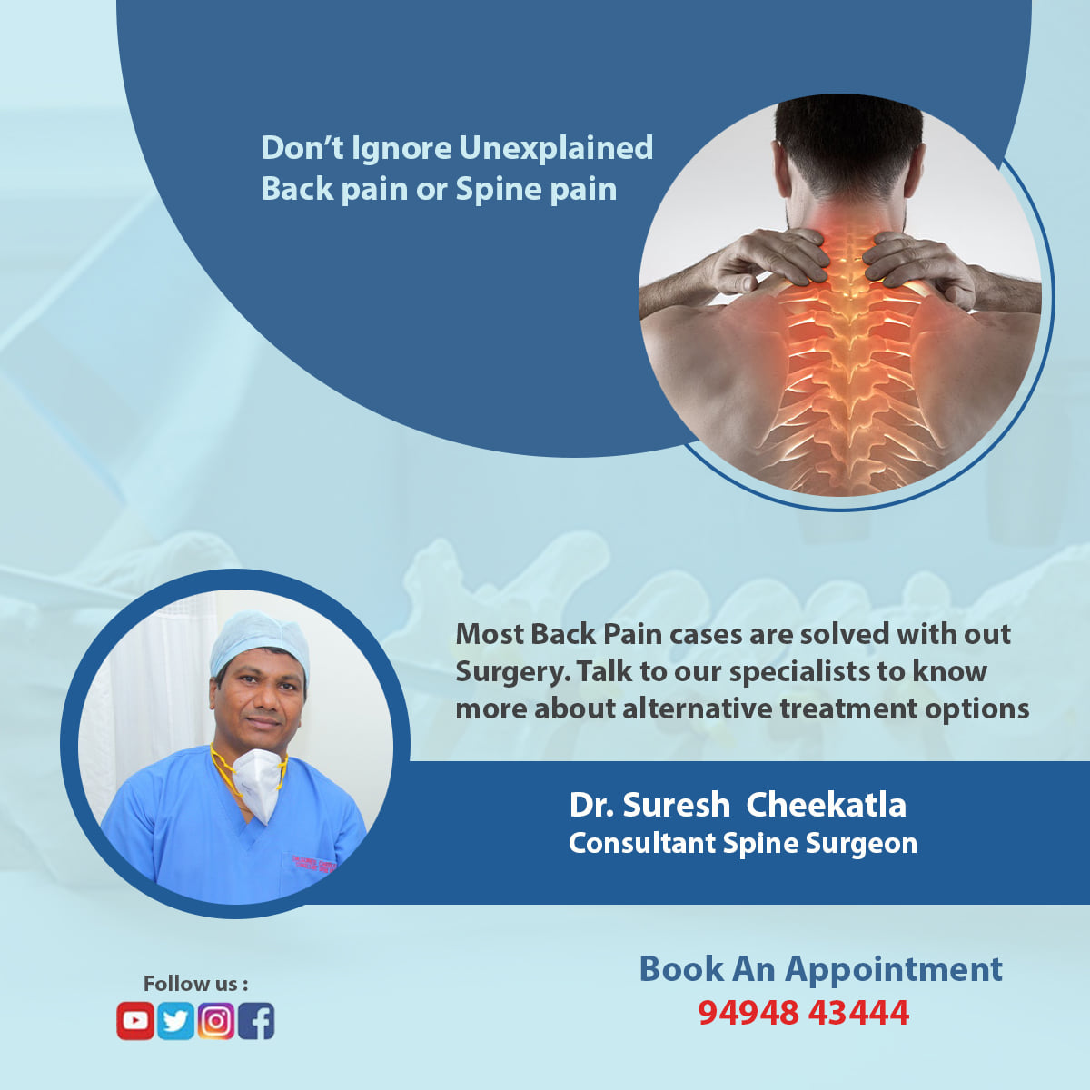 Spine surgery treatment in hyderabad